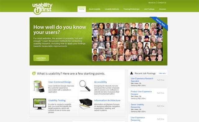 usability-first.com screengrab